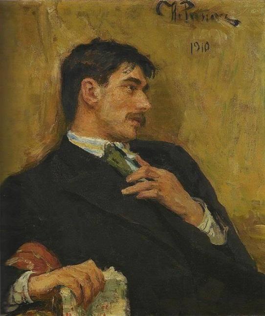И.Е. Репин. Портрет Корнея Чуковского, 1910