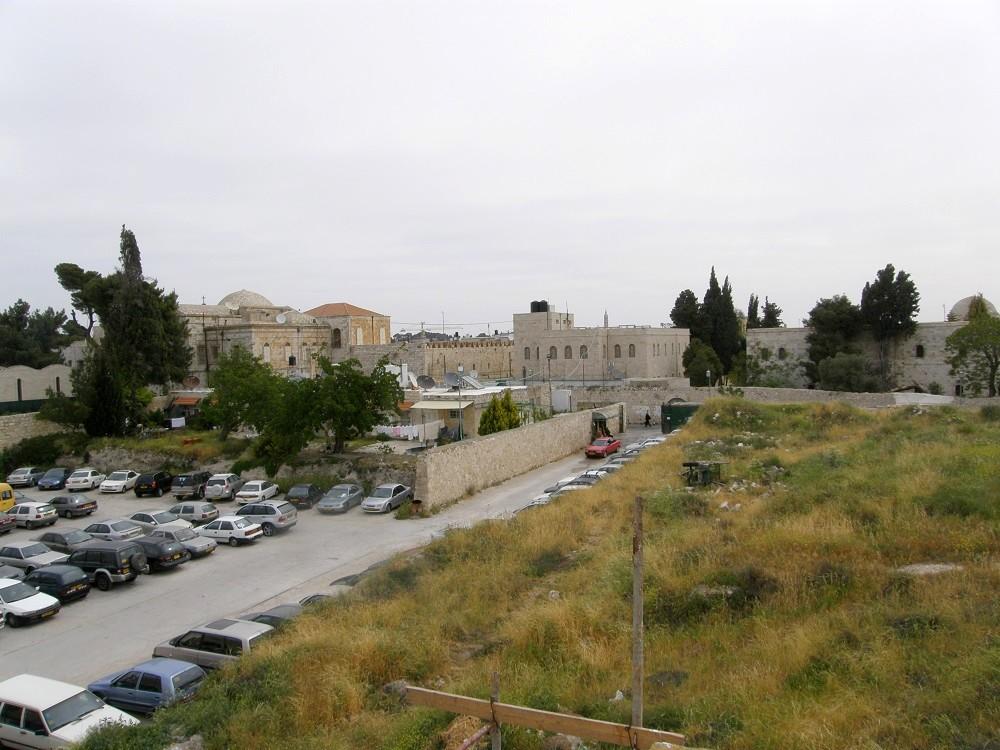 Парковка армянского квартала