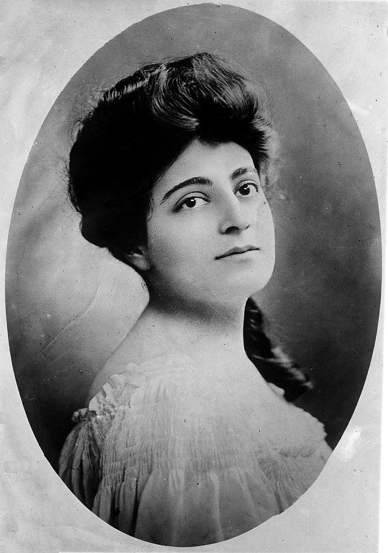 Флора Забел, ок. 1912. Библиотека Конгресса