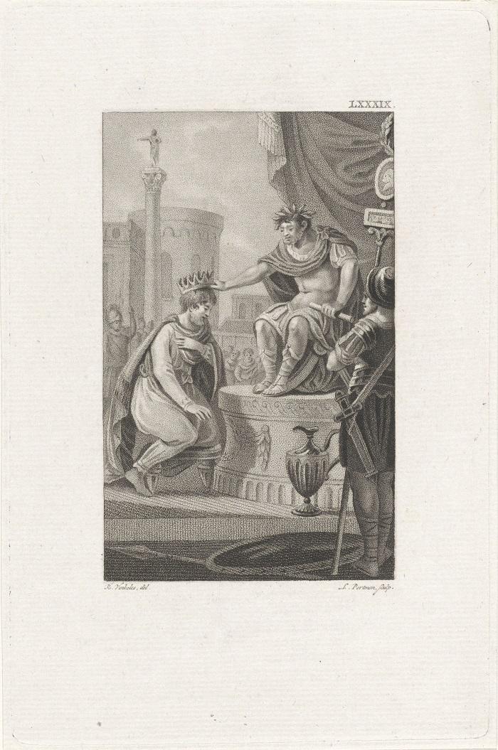 Нерон коронует Трдата I
