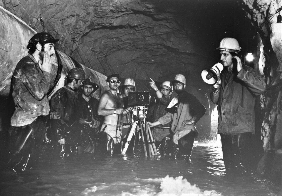 На съемках фильма «Вода наша насущная» (1975)