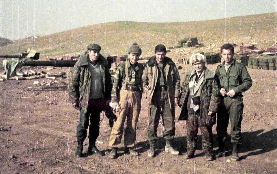 Атоянц в Арцахе (1993)