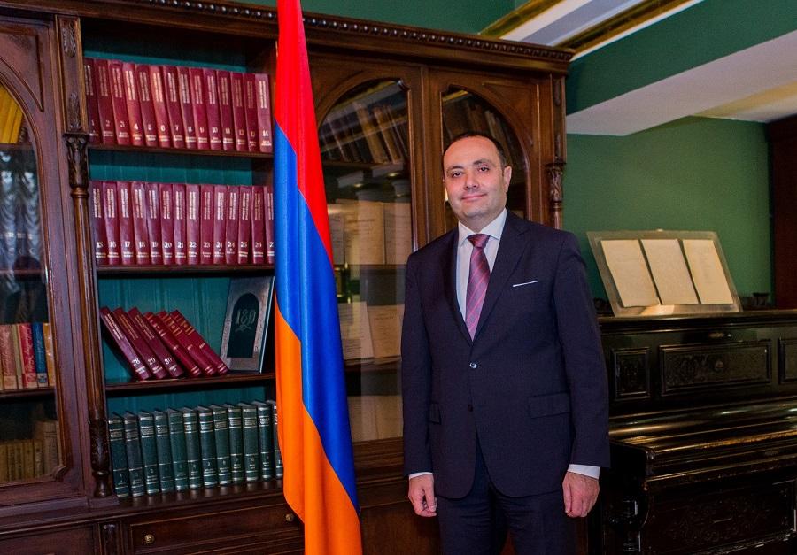 Вардан Тоганян | russia.mfa.am