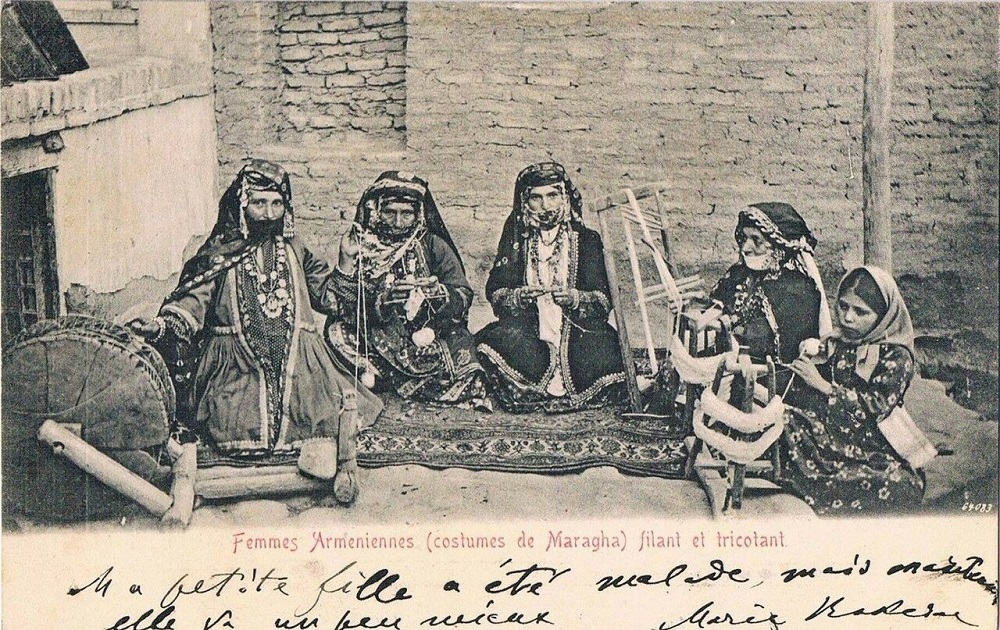 Армянские женщины в Мараге | humus.livejournal.com