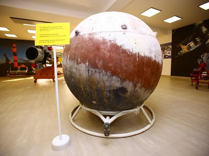 Посадочная капсула ракетной обсерватории К-2, запущенная на высоту 500 км в 1962 году ракетой Р5В  ǁ   garni-cosmos.com