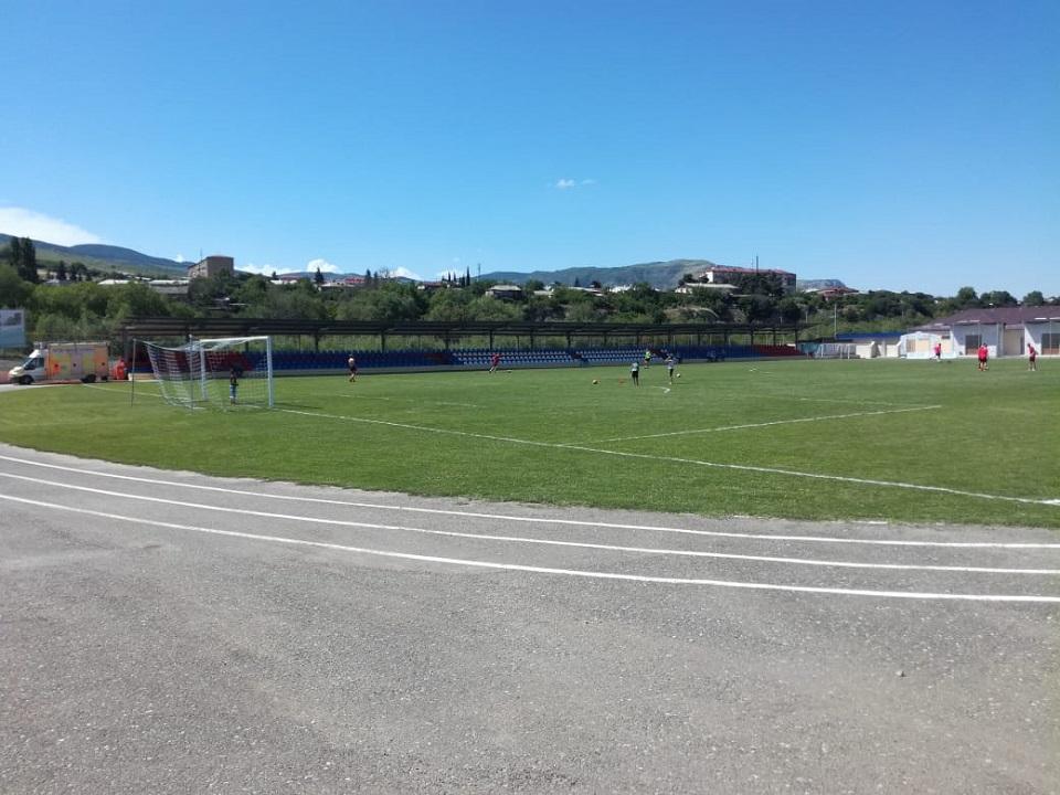 Стадион города Аскеран   ©Антон Евстратов