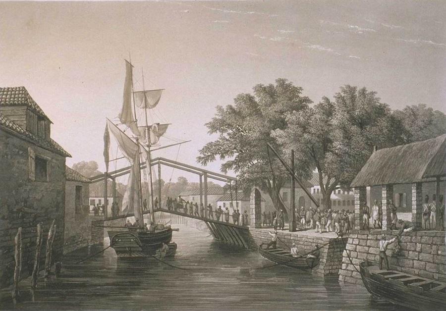 Малакка в 1830-е годы | wikipedia.org