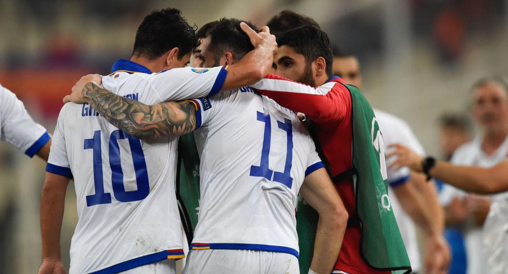 Матч Армения – Греция ©SPUTNIK / ASATUR YESAYANTS | armeniasputnik.am