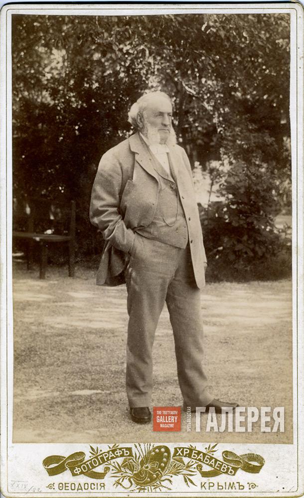 Иван Айвазовский. Феодосия, 1890-е ǁ tg-m.ru