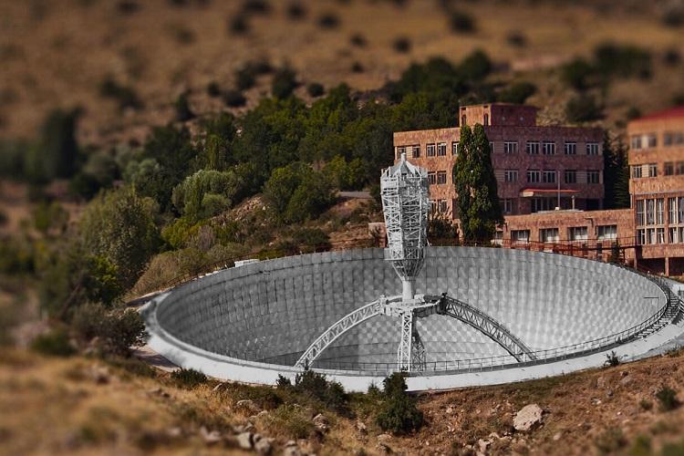 Телескоп Геруни © Бюраканская обсерватория ǁ naked-science.ru