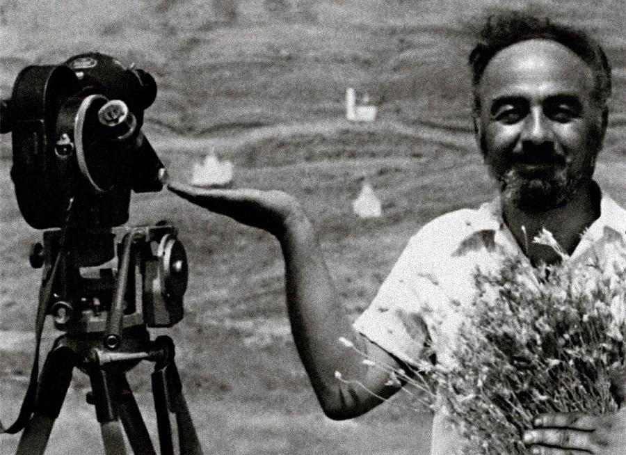 Сергей Параджанов на съемках (1968) | zham.ru