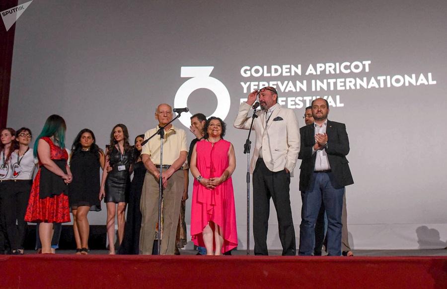 Церемония закрытия кинофестиваля «Золотой абрикос» ©Sputnik / Asatur Yesayants | armeniasputnik.am