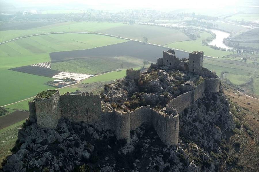 Крепость Левонкла (Йыланкале) в Адане (конец XII-начало XIII века)| mapio.net