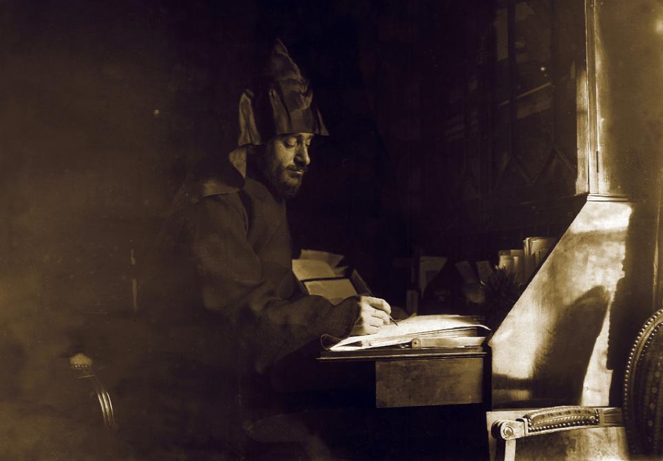 Комитас дома у писателя Аршака Чобаняна. Париж, август 1901 года ǁ  komitasmuseum.am
