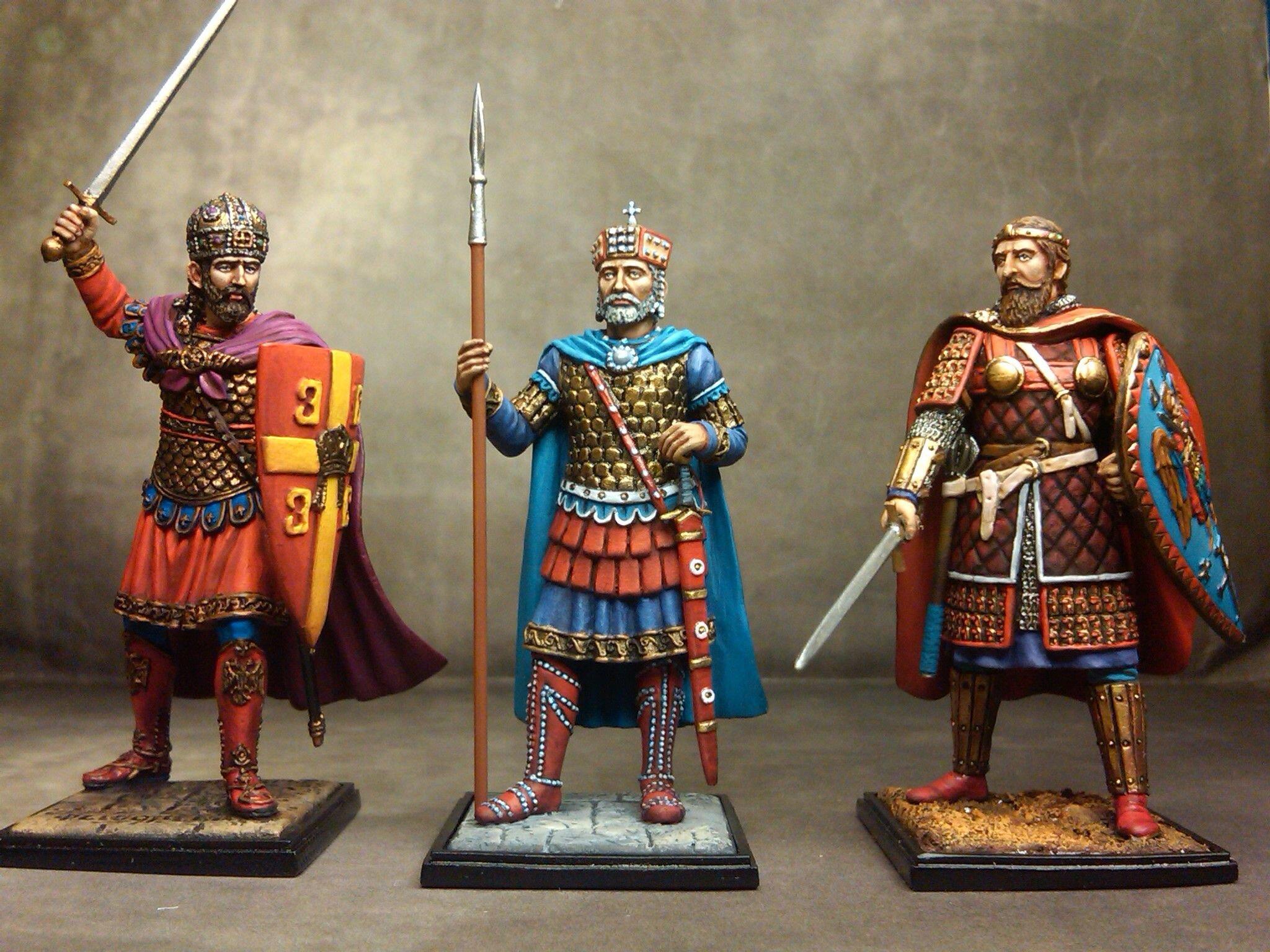 Византийские воины. Источник: pinterest.com