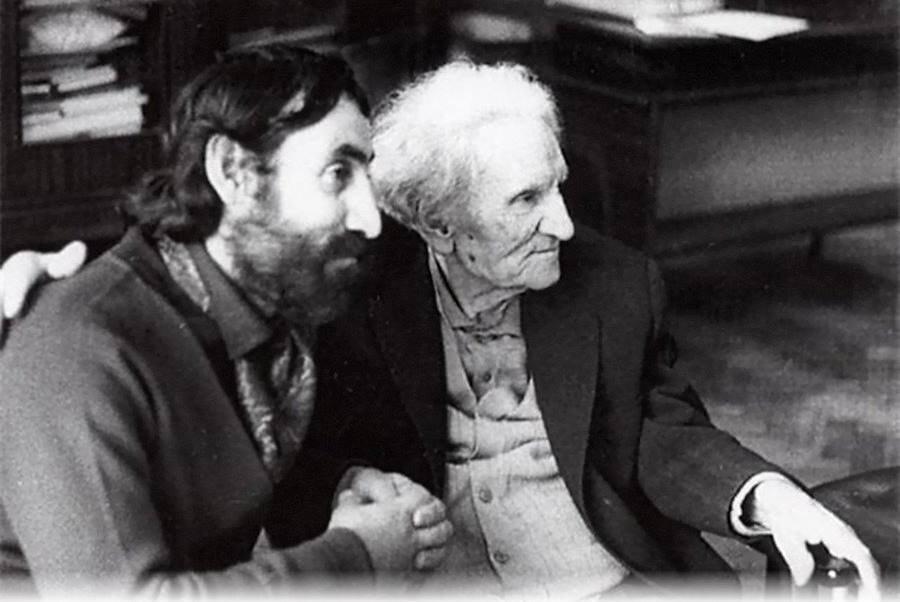 Минас Аветисян и Мартирос Сарьян. Источник: regnum.ru
