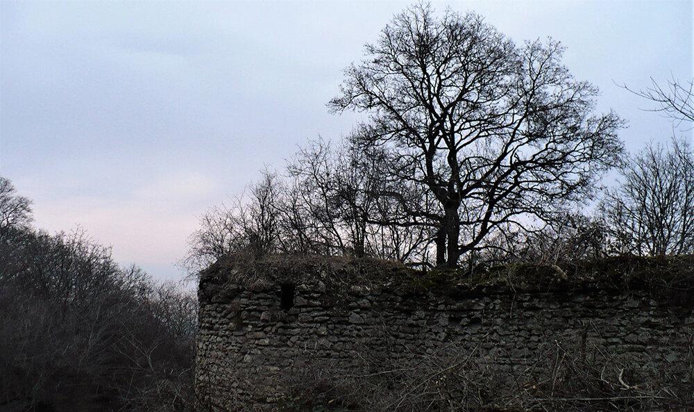 На фото: руины дворца Мелик-Бегларянов. © Евгения Филатова