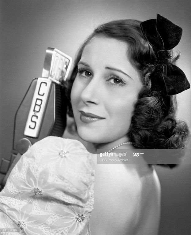 Арлин Френсис, 1939. Фото: CBS via  Getty Images