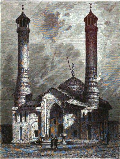 В. Верещагин. «Мечеть в Шуши». Источник: google.com