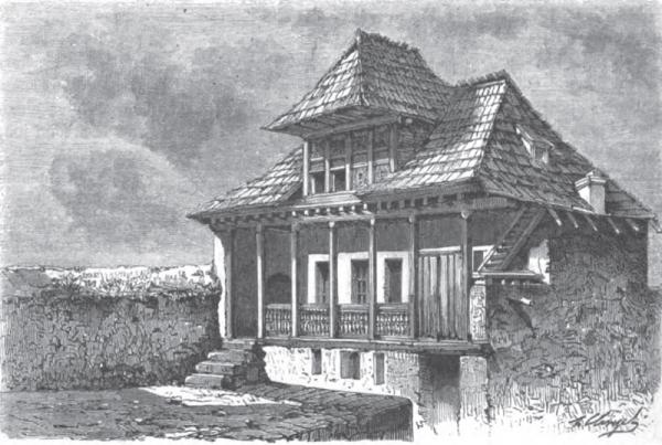 В. Верещагин. «Дом для приезжих в Шуши». Источник: google.com