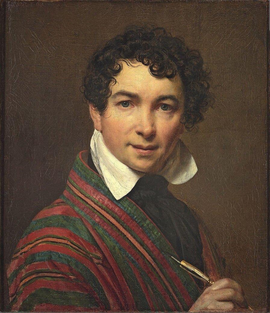О.А. Кипренский. Автопортрет, 1828. Источник: wikipedia.org