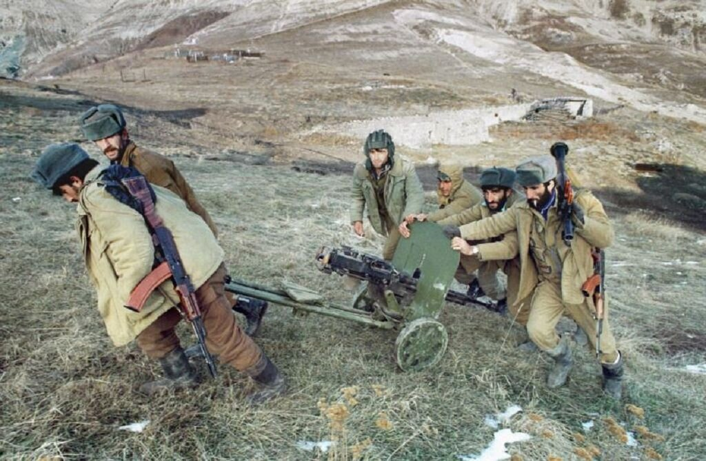 Солдаты Первой Карабахской войны. Фото: pinterest