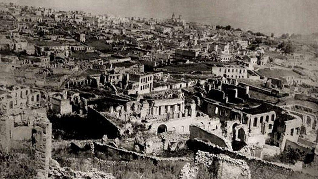 Так выглядел город Шуши 100 лет назад. Источник: Газета