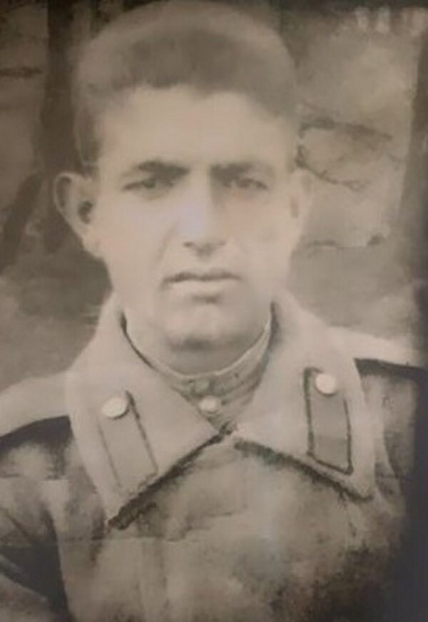 Сурен Гаспарян, дедушка Милены. Фото из семейного архива Милены Гаспарян
