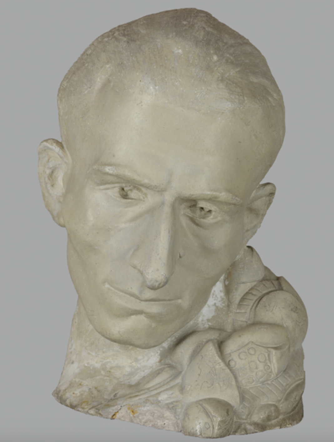 Акоп Гюрджян. Памятник Ваану Терьяну (1919 – 1920), гипс, шлифовка/полировка, литье. Из собрания    Национальной галереи Армении