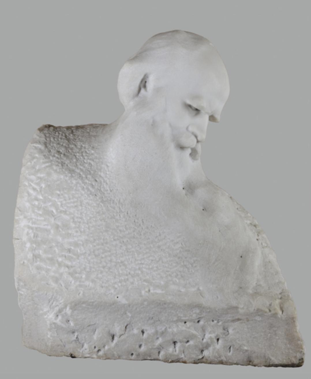 Акоп Гюрджян. «Портрет Льва Толстого», 1913 год