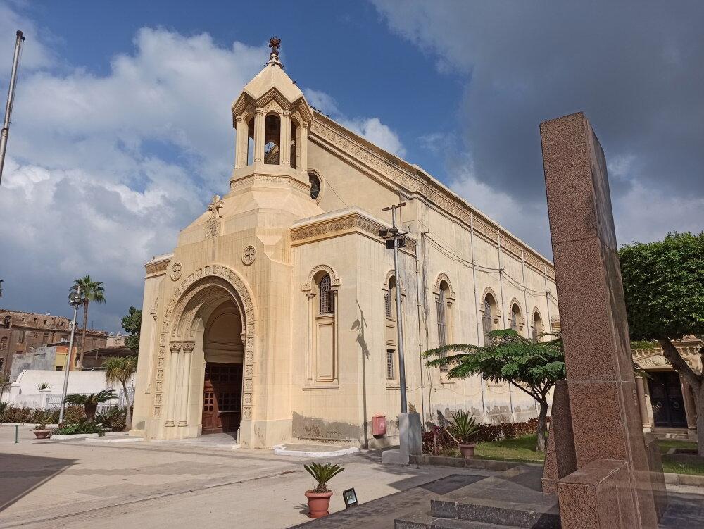 Армянская церковь Александрии. Фото:  «Антитопор»
