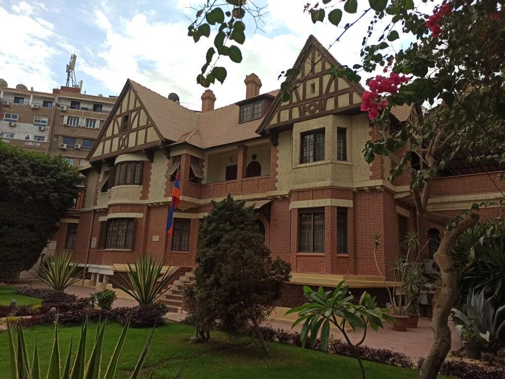 Посольство Армении в Каире. Фото:  «Антитопор»