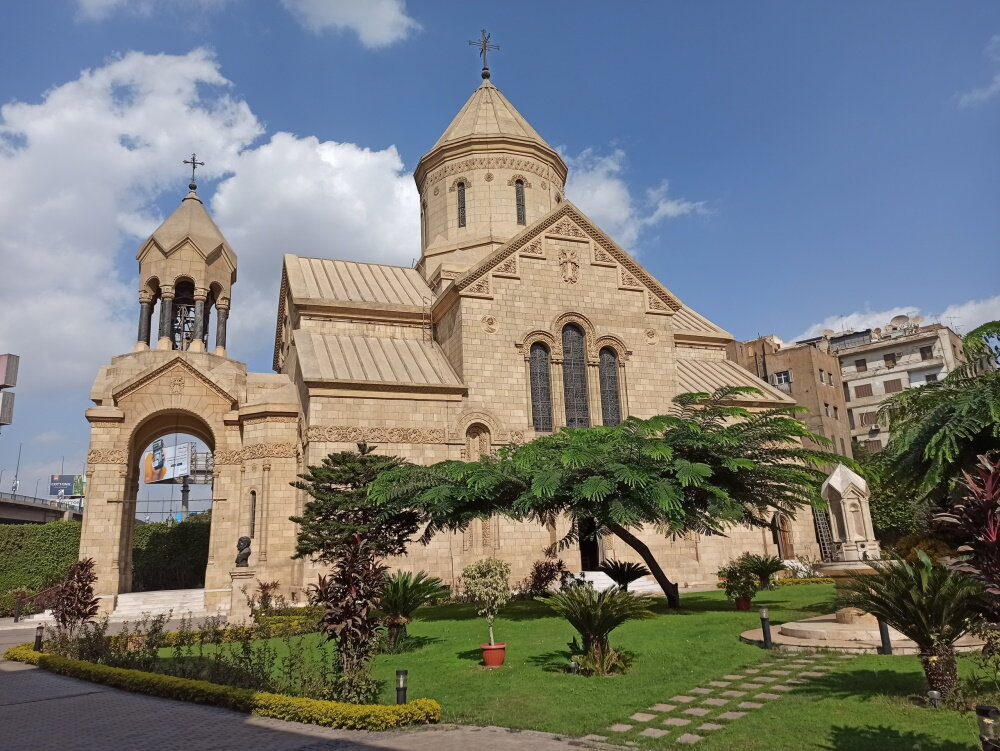 Армянская церковь Каира. Фото:  «Антитопор»