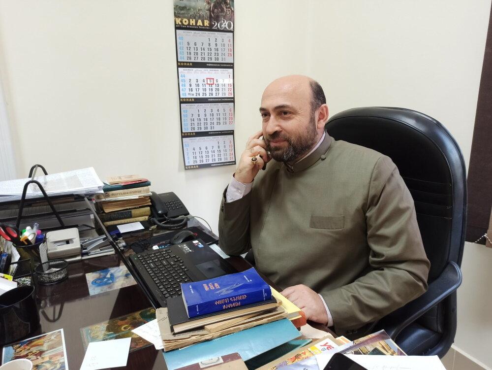 Ашот Мнацаканян — владыка ААЦ Египта и всея Африки. Фото:  «Антитопор»