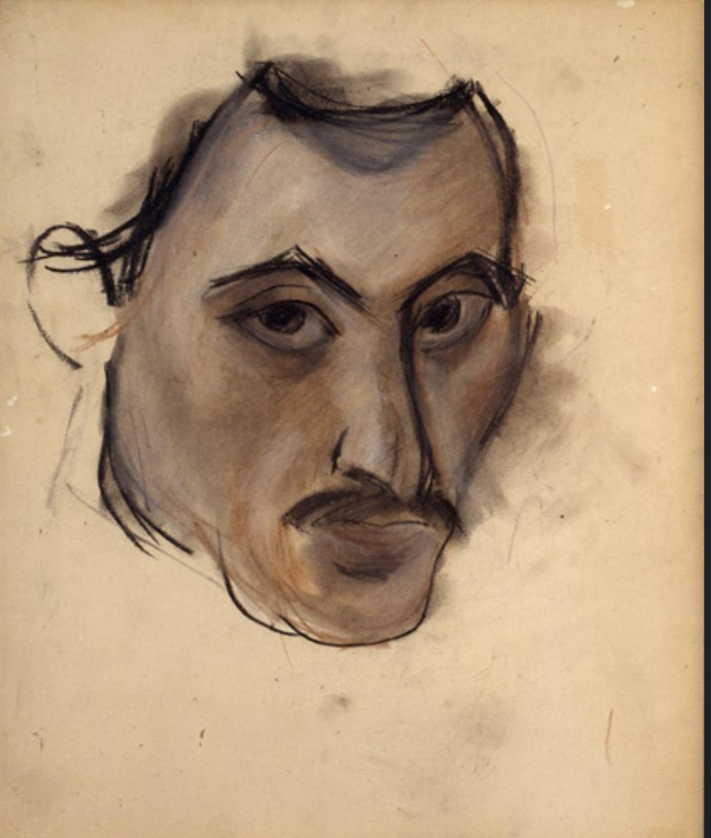 Аршил Горки. Без названия (Автопортрет), 1928–1929 ǁwikiart.org