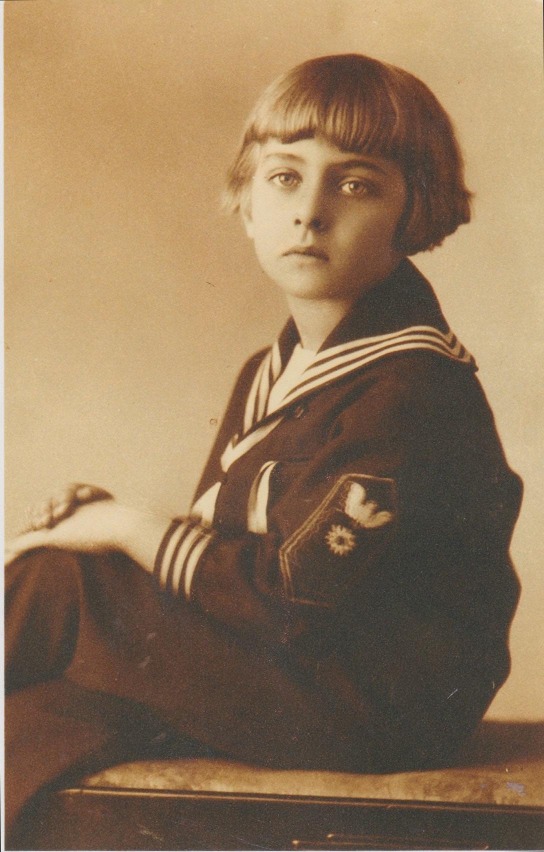 Shura aged 5.