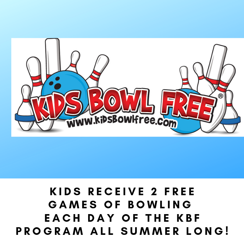 Kids Receive 2 FREE GAMES Of Bowling Each Day Of The KBF Program All Summer Long.png