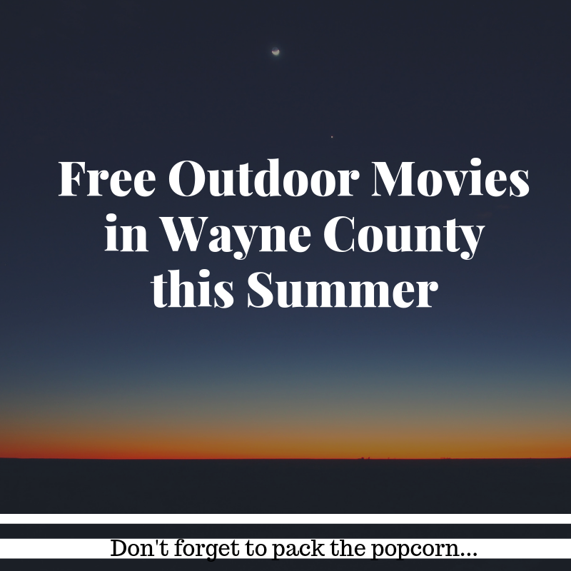 FREE OUTDOOR MOVIES THIS SUMMER