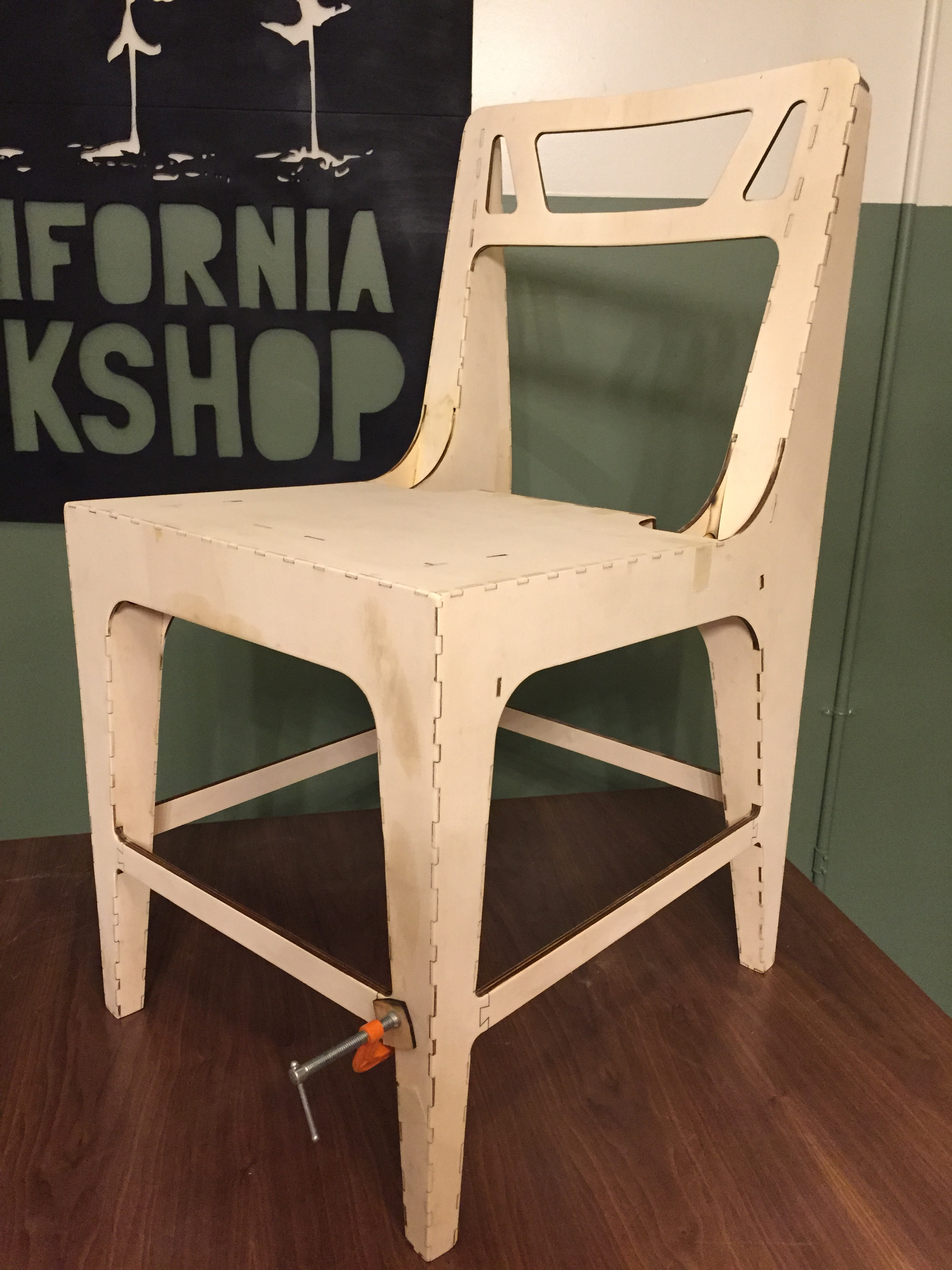 The lightest Chair we have made to date. 1290g