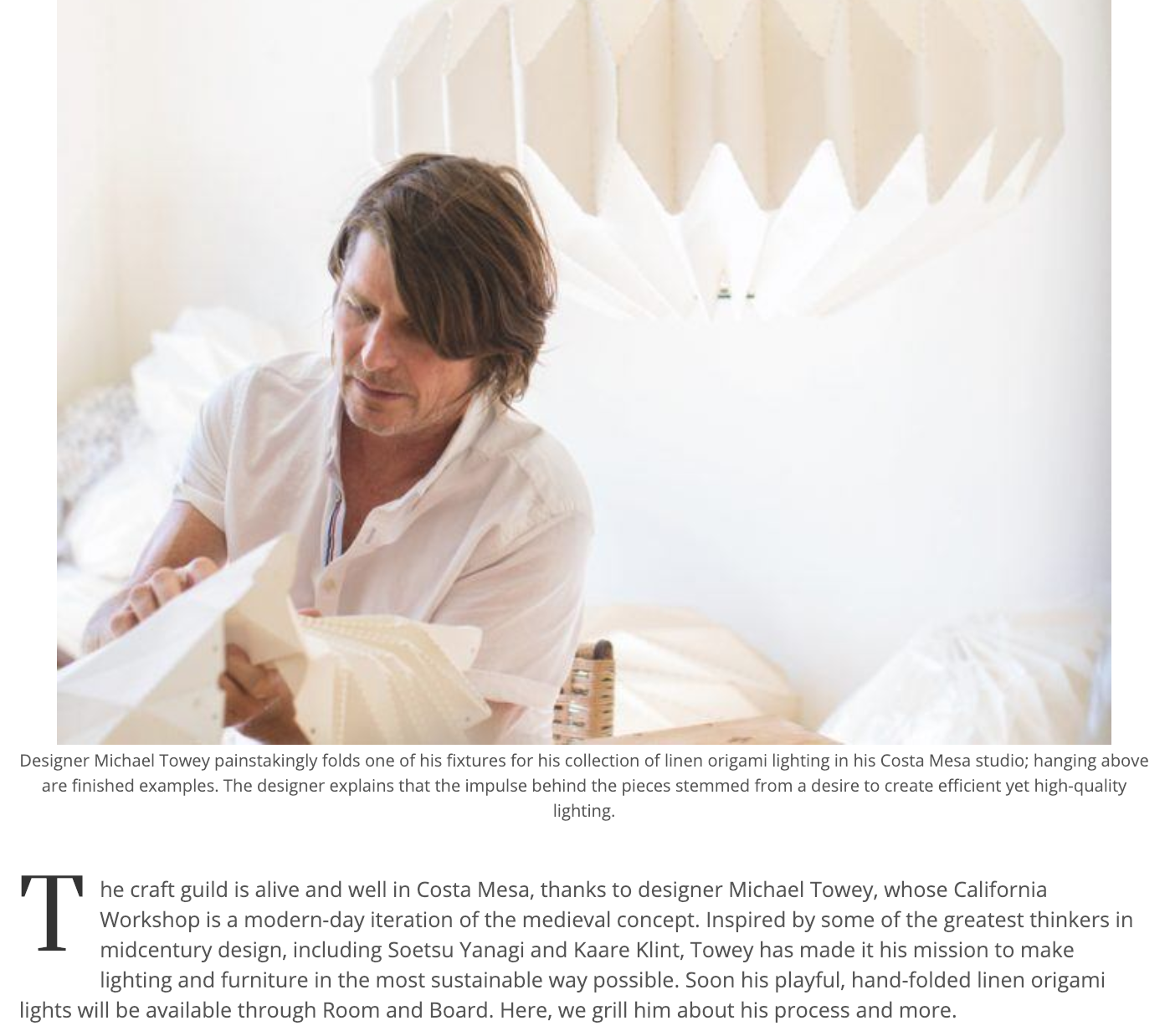 Click on the image above for a Q&A with Michelle Brunner for Luxe Magazine. Photo: Lou Mora