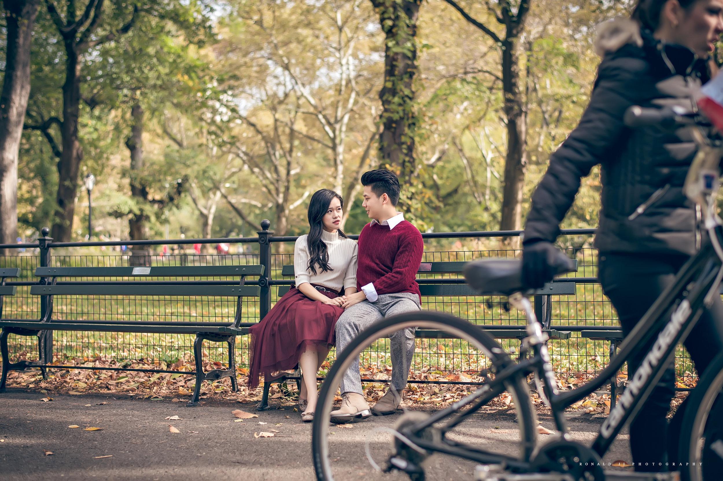 「中央公園Central Park」By Ronald Ji