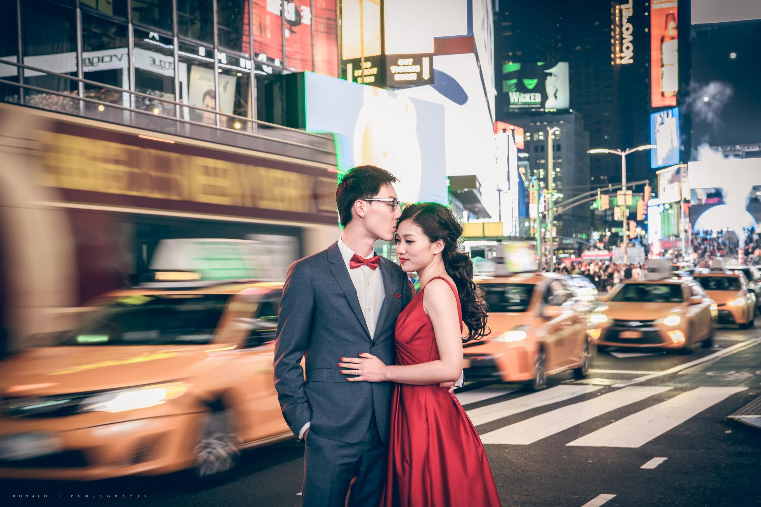 「時代廣場Time Square」By Ronald Ji
