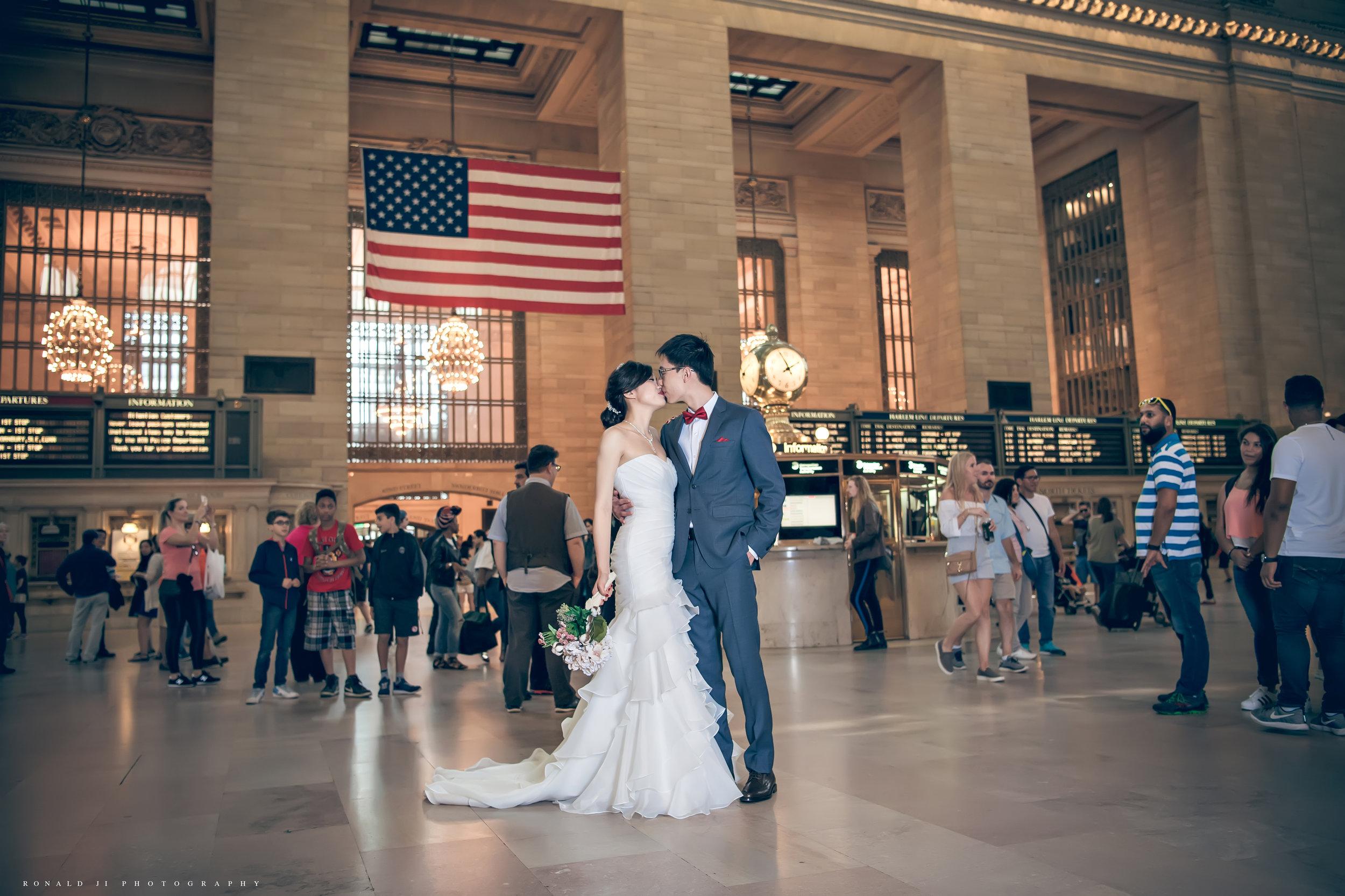 「中央車站 Grand Central」By Ronald Ji