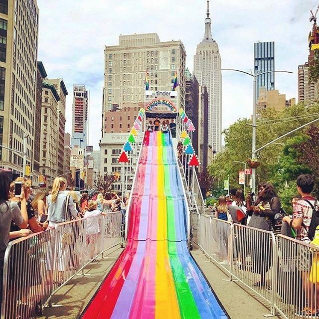 暑假期間紐約的大街小巷總是有許多大小有趣的活動舉行🗽  #nyc#hellocities #hellonyc#nyctour #nycguide #madisonsquarepark #nycstreetviews #紐約深度旅遊 #紐約行程客製化#亞洲到紐約#ニューヨーク観光 #ニューヨークガイド#