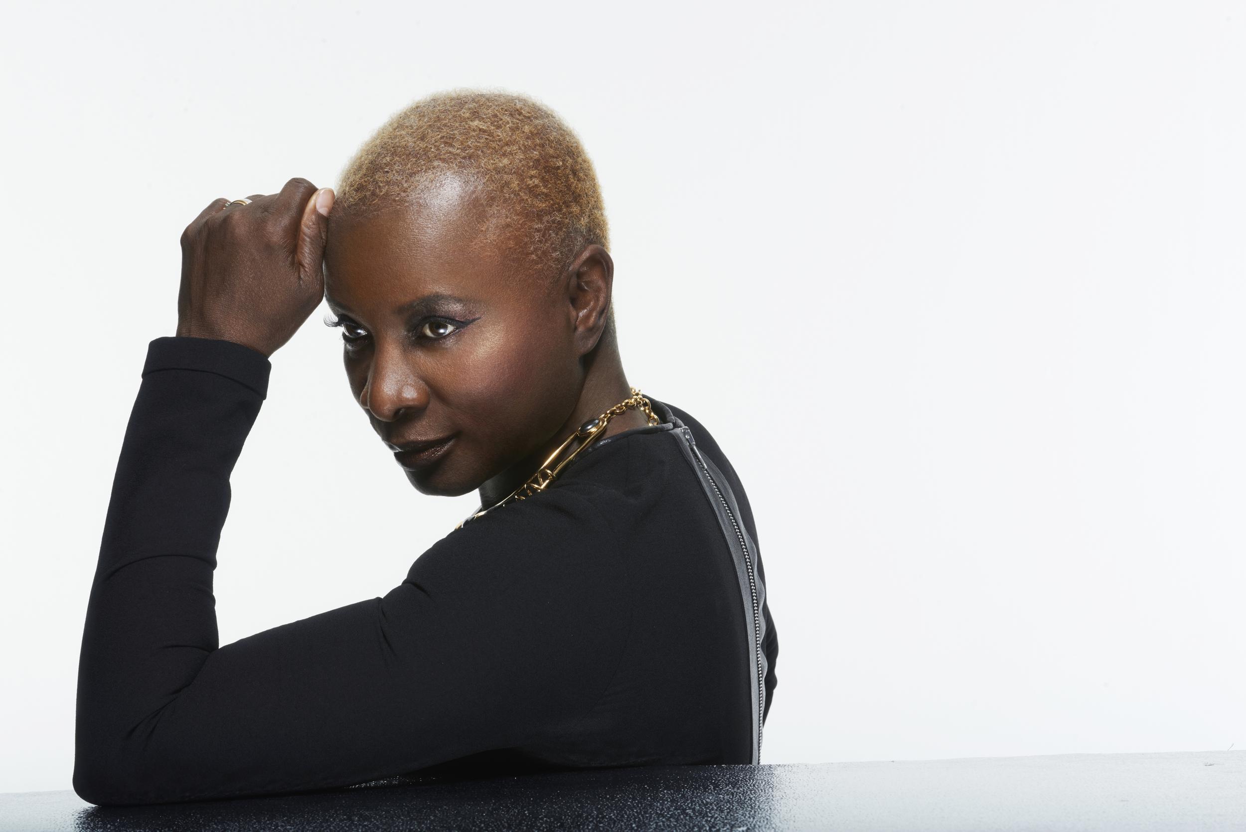 Angélique Kidjo. Photo by Gilles Marie Zimmerman.
