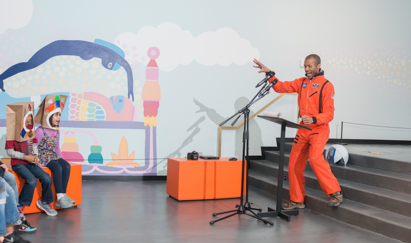 """""""Blast Off!""""  Story Hour  at the Museum."""