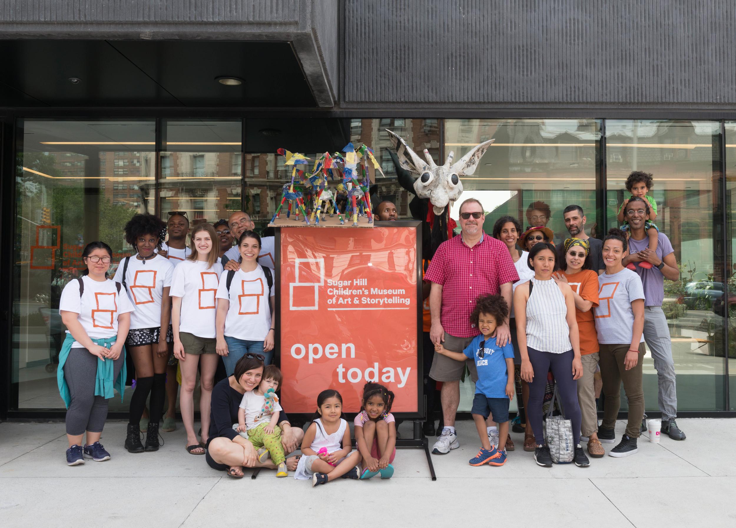 Hike the Heights/Giraffe Path 2016 kicks off at the Sugar Hill Children's Museum