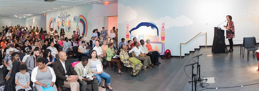 Opening of the Uptown Art Stroll at the Sugar Hill Children's Museum
