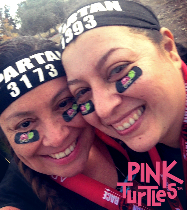 Letty and Maria at the Spartan Race 2015