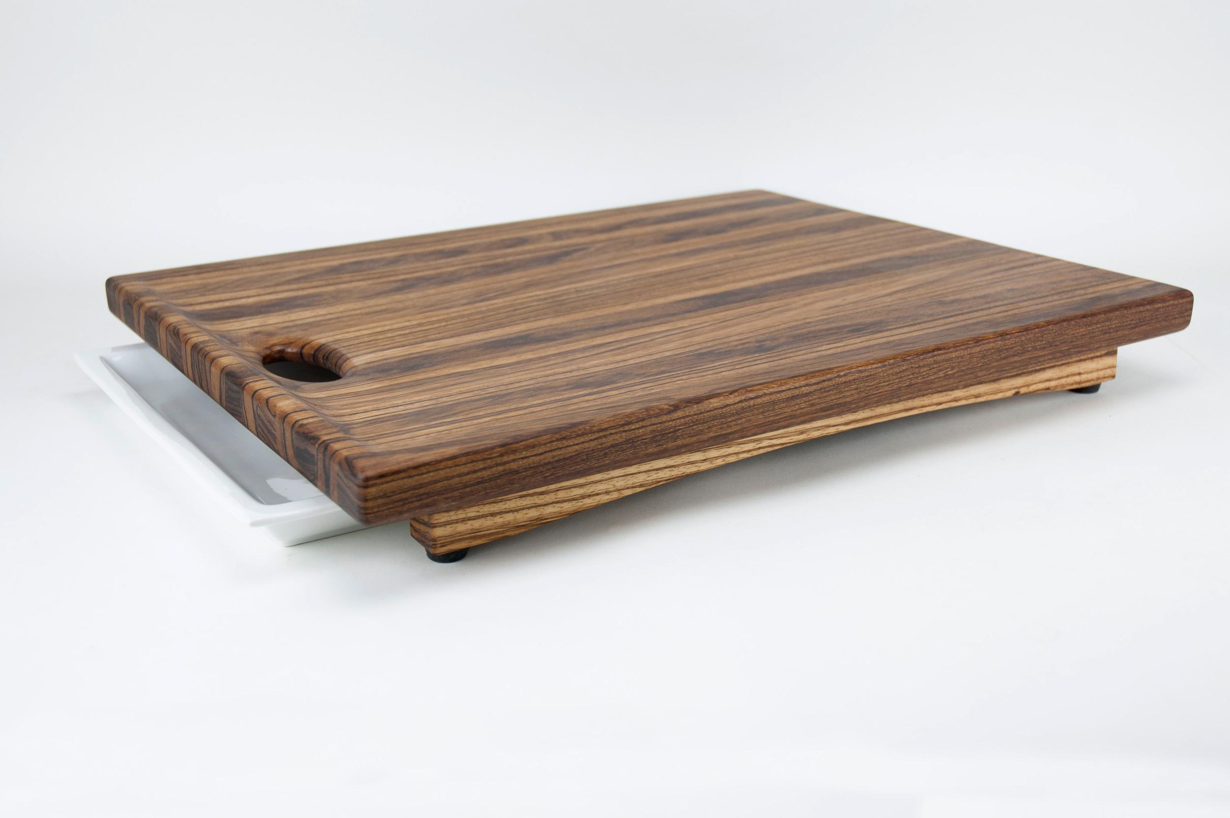 Custom zebrawood